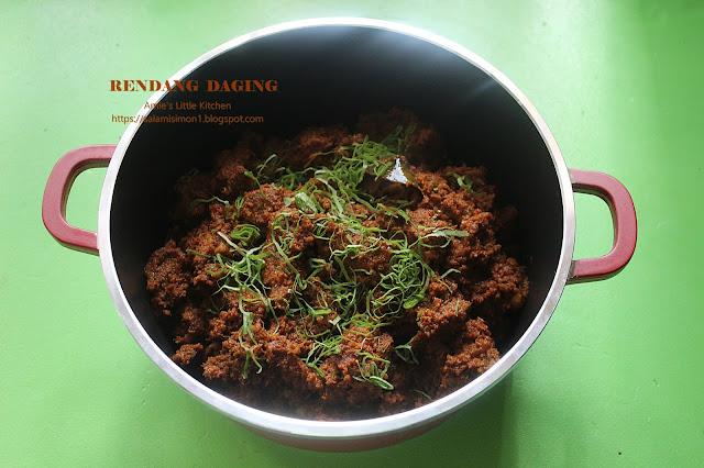 amies  kitchen resipi rendang daging mudah tapi Resepi Daging Masak Merah Chef Wan Enak dan Mudah