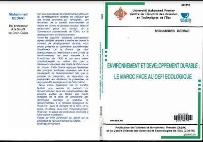 Environnement et développement durable le Maroc face au défi écologique