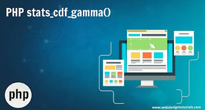 PHP stats_cdf_gamma() Function