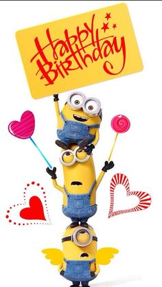 100+ Minions Happy Birthday Images Wishes Memes (2019