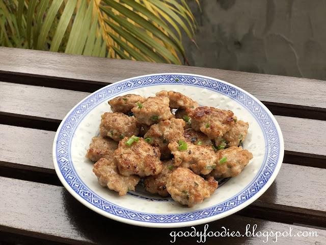 Pan fried pork patty recipe