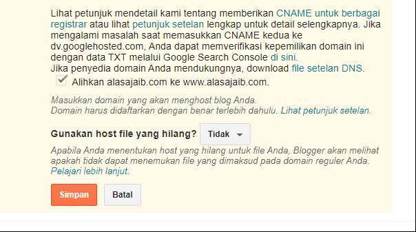 Cara mengatasi blog tidak bisa diakses tanpa www