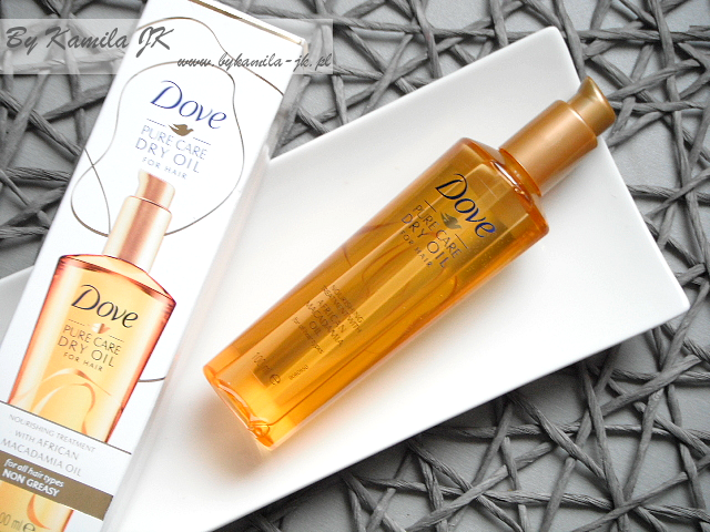 Dove Pure Care Dry Oil - suchy olejek do włosów
