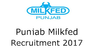 Punjab State Cooperative Milk Producers Federation Recruitment 2017 – 175 Clerk-cum-Typist, Laboratory Assistant