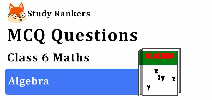 MCQ Questions for Class 6 Maths: Ch 11 Algebra