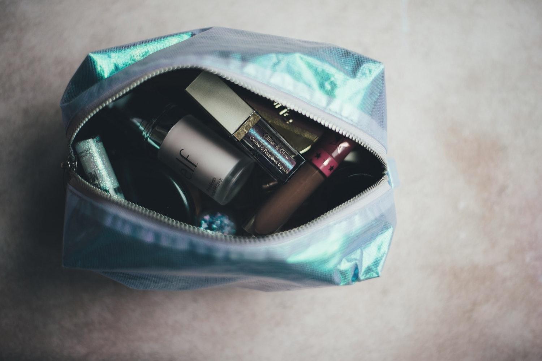 full makeup bag