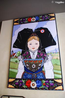 Uno dei disegni dell'artista alsaziano Hansi