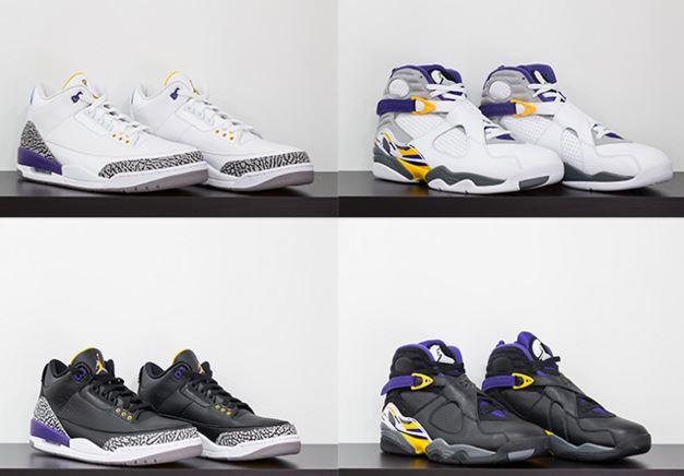 ae2ef2f38462 THE SNEAKER ADDICT  2016 Kobe Bryant x Air Jordan 3 and 8 PE Sneaker ...