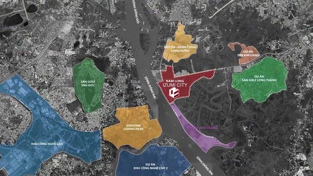 Thông tin dự án khu đô thị Izumi City