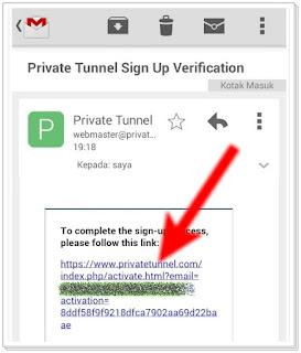 Cara Menggunakan Private Tunnel