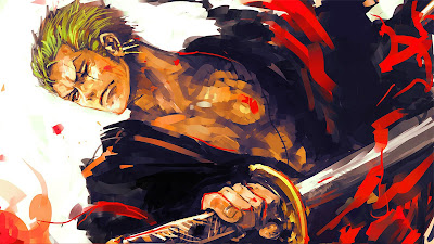 Gambar Wallpaper One Piece HD Roronoa Zoro