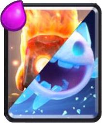 Carta Espirito de Gelo ou Fogo Clash Royale - Cards Wiki