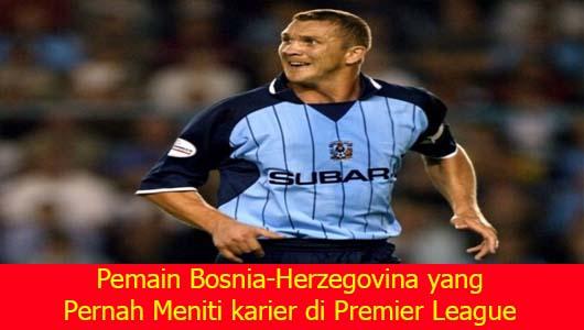 Pemain Bosnia-Herzegovina yang Pernah Meniti karier di Premier League