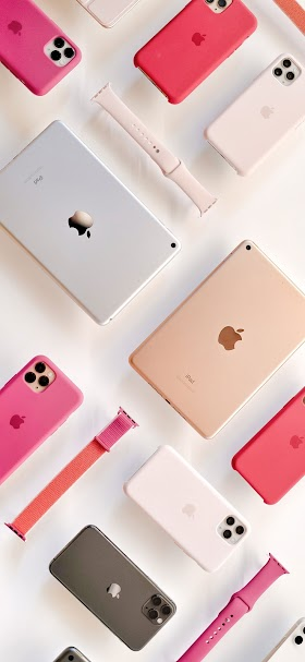 Apple products wallpaper