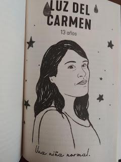 Luz del Carmen, fotografía interior de La fosa de agua