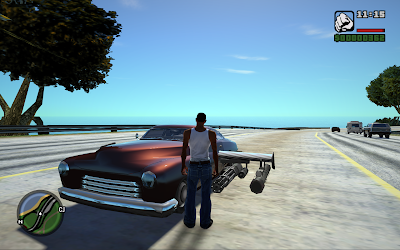GTA San Andreas Cars Weapon Mod Free Download
