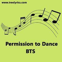 BTS Permission to Dance Lyrics