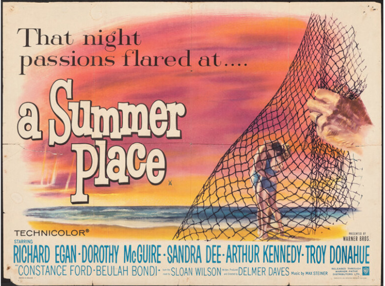 A Vintage Nerd, Vintage Blog, Classic Beach Movies, Old Hollywood Blog, Classic Film Blog, Retro Lifestyle Blog, A Summer Place
