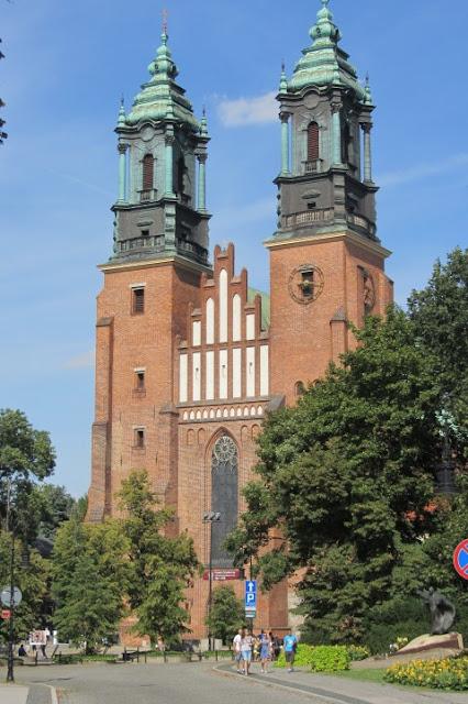 kathedraal in Poznan, Polen