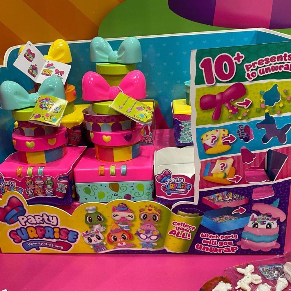 Сюрпризы Party Surprise новые игрушки 2020