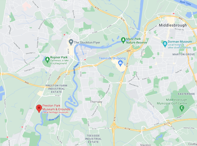 Preston Park, Museum & Grounds | A Visitor's Guide - map