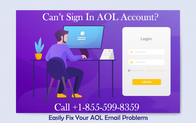 Can't Sign In AOL Account? [Guide To Fix] | +1-855-599-8359