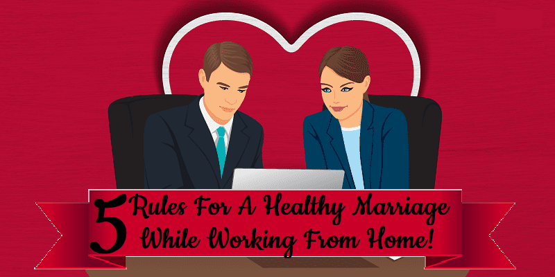 coronavirus couples working from home together