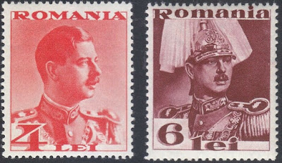 Romania 1934  King Carol II