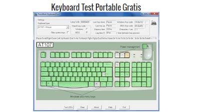 Download Keyboard Test Portable Gratis