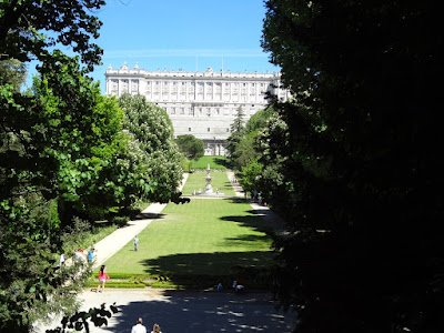 Palacio Real desde el Campo del Moro