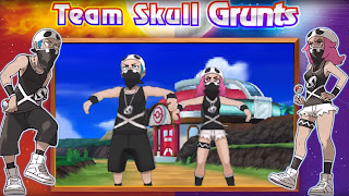 Pokemon Sun and Moon Team Skull