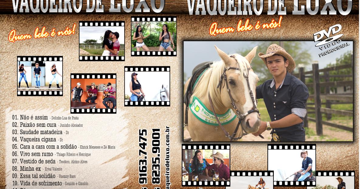 54101911ff5 Tudo Gtba  Vaqueiro De Luxo - Capa Música DVD