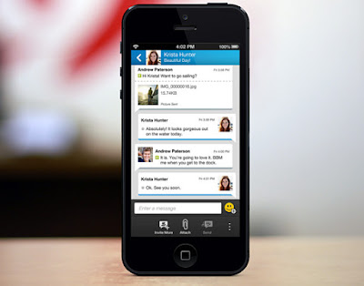 ping en bbm con tu iPhone