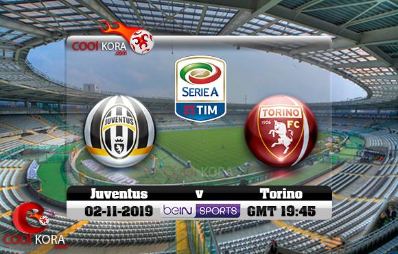 مشاهدة مباراة تورينو ويوفنتوس اليوم 2-11-2019 في الدوري الإيطالي