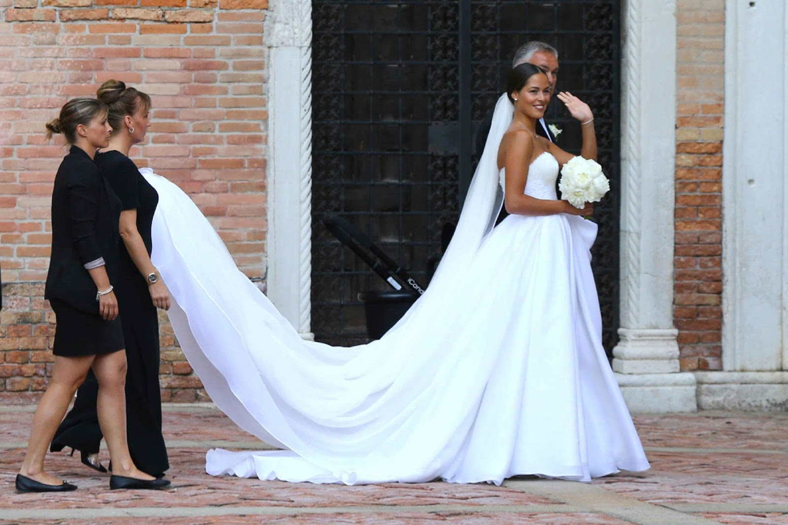 ANNA IVANOVIC WEDDING