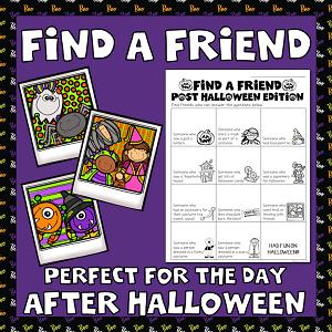 After-Halloween Find a Friend