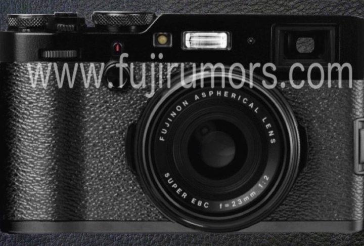 Fujifilm X100F, вид спереди