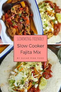 Slow Cooker Fajita Mix Recipe   Slimming World Friendly