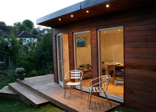 Backyard Home Office - Strange & CharmedStrange & Charmed
