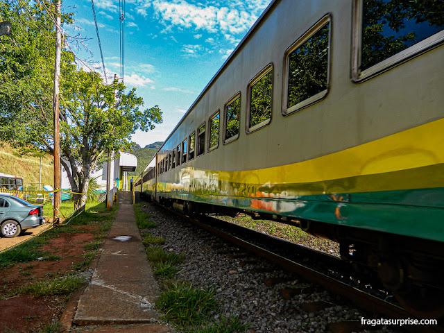Estação de trens de Barão de Cocais, Minas Gerais
