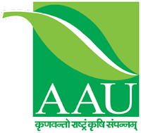 AAU - Anand Agriculture University recruitment 2020