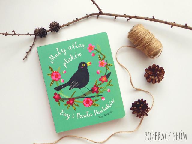 atlas ptaków dla dzieci, książka dla dzieci