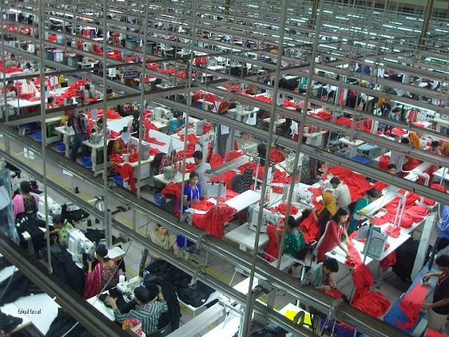 How does Gold Garment keep their factory safe?