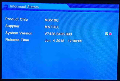 Update Sw Matrix Sinema HD Fix Sony Ten
