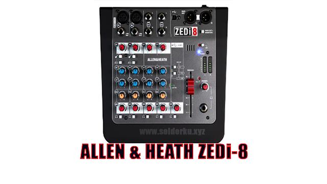 Mixer Allen Heath 8 Channel
