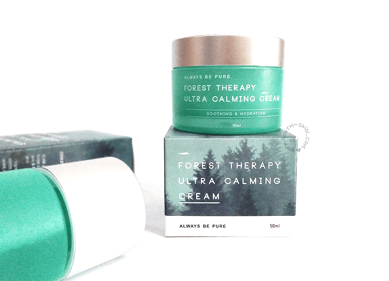 review-always-be-pure-forest-theraphy-ultra-calming-cream
