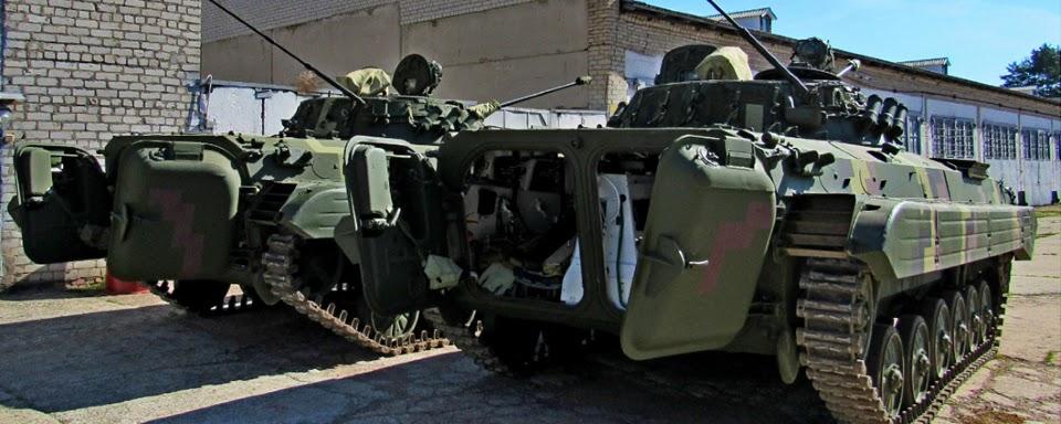 ЖБТЗ передав ЗСУ чергову партію відремонтованих БМП-2