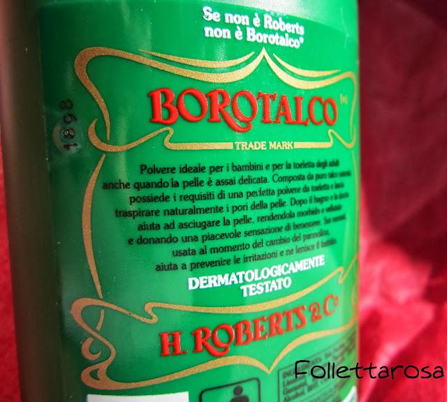 borotalco recensione