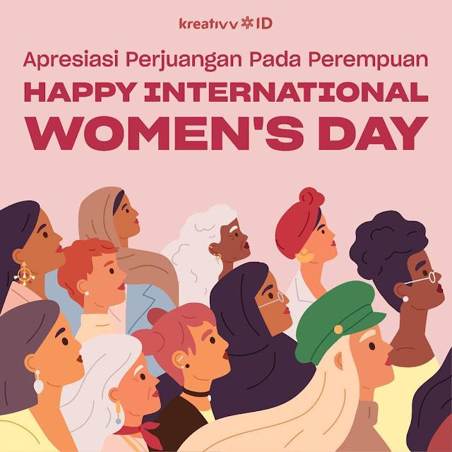 Perayaan International Women's Day dari Berbagai Negara