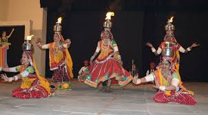 rajasthani folk dance information in hindi